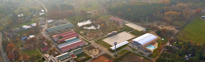 Sesja nad WOSiR w Drzonkowie k. Zielonej Góry