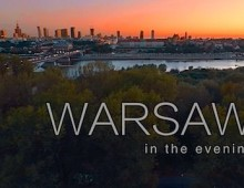 WARSAW in the evening – 2015