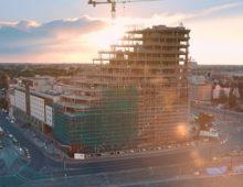 Budynek Bałtyk w Poznaniu okiem drona – 2016