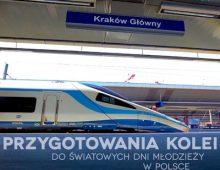 Przygotowania kolei do Światowych Dni Młodzieży w Polsce – 2016