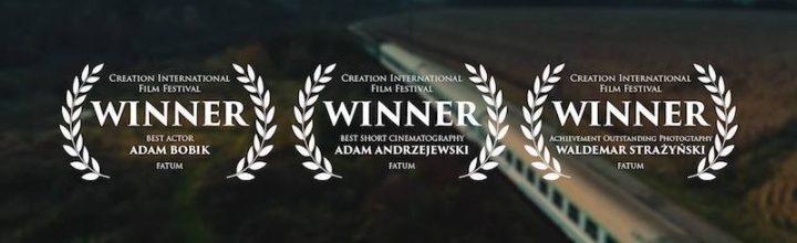 Nagroda za najlepsze zdjęcia lotnicze na Creation International Film Festival w Kanadzie